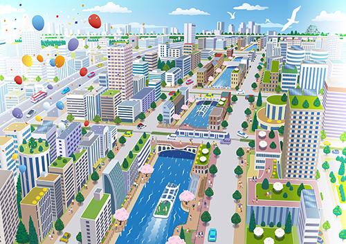 堀川の未来予想図